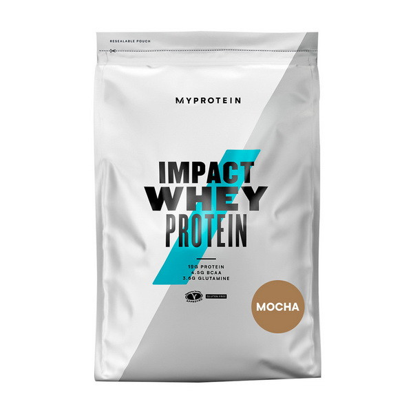 Сывороточный протеин концентрат MyProtein Impact Whey Protein (1 кг) майпротеин импакт вей salted caramel