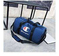 Спортивная сумка  Champion синяя (реплика)