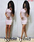 Люрексова сукня з коротким рукавом, фото 3