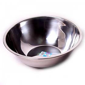 Миска Kamille 4375 d-24 см, из нержавеющей стали