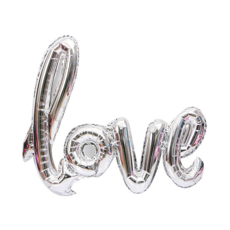 """Повітряна куля-слово """"Love"""", сірий"""