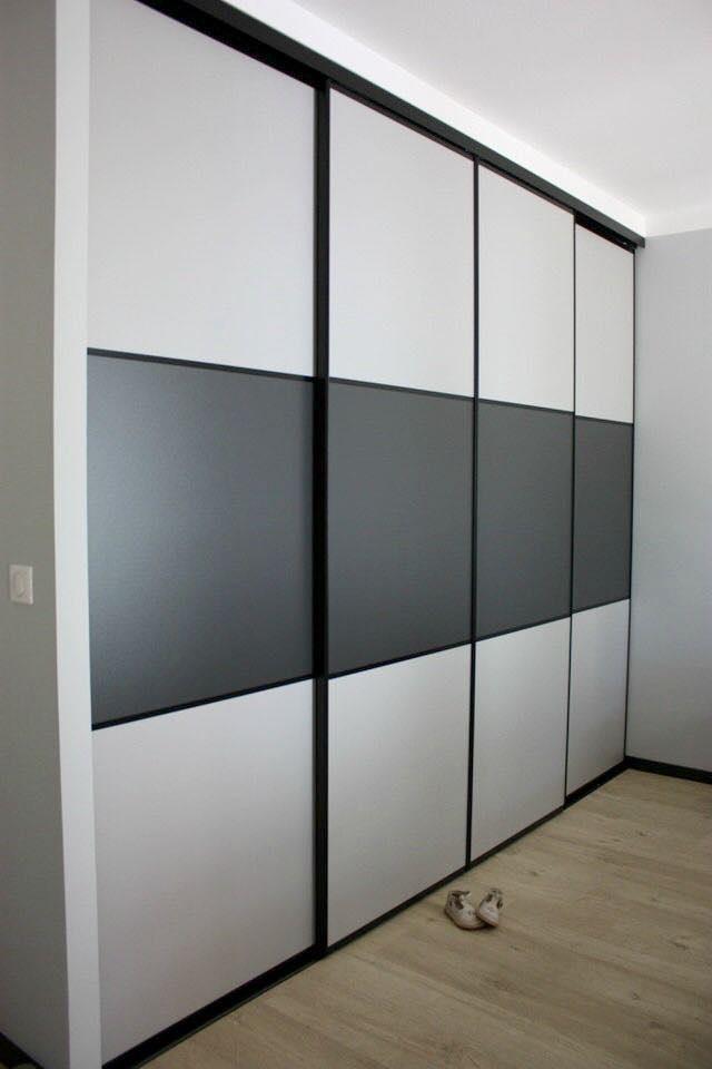 Двери раздвижные для шкафа-купе Лакобель RAL