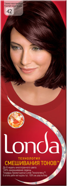 Крем-краска для волос Londa Professional Технология смешивания тонов 42 Темно-каштановый 110 мл (4015203134427