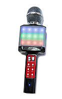 Караоке микрофон, WSTER WS 1828, микрофон с динамиком, микрофон детский, с bluetooth и usb