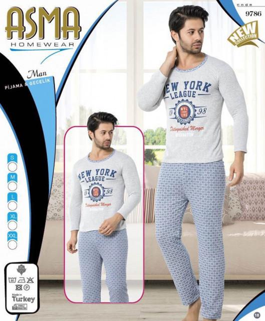 Мужские пижамы комплекты с шортами, капри
