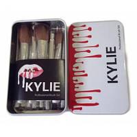 Профессиональный набор кисточек для макияжа kylie professional brush set 12 шт