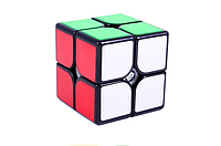 YJ 2x2 GuanPo Black | Кубик Мою 2x2 чорний YJ8317