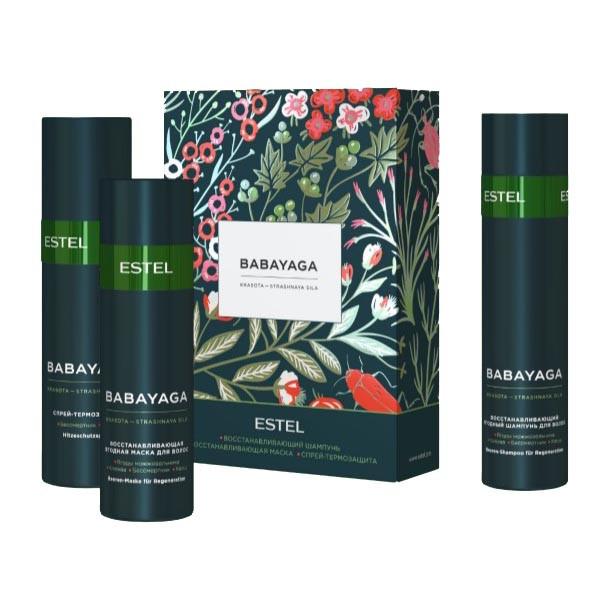Набор Эстель Баба-Яга Babayaga Estel Professional Для укрепления и интенсивного роста волос.