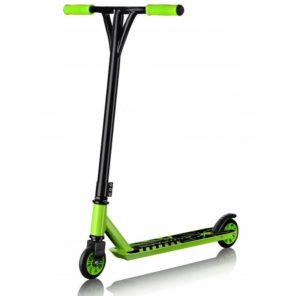Самокат трюковой SportVida Rampage SV-WO0006 Black/Green