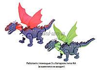 Животные игрушечные 9789-70 динозавр, свет, звук, ходит, в коробке 23*13*11см