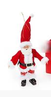 Новогодняя декоративная фигурка-подвеска Санта в дисплей-коробке 17,5 см, Красный