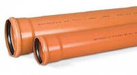 ТРУБА ПВХ 160х2м для наружной канализации(Мпласт 3.2)