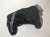Комбинезон мех 83 см разм Доберман 2 черный для собак