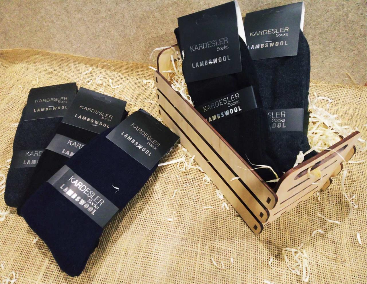 Мужские носки Kardesler шерсть тонкие