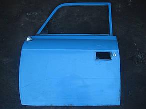 Дверь передняя левая Москвич голубая
