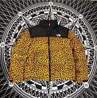 Зимняя куртка Supreme x TNF Leopard. До -15*С