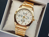 Мужские кварцевые наручные часы Tissot на металлическом ремешке, фото 1