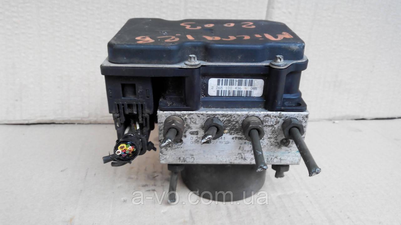 Блок ABS для Nissan Micra K12, 47660AX600, 0265231341, 0265800320