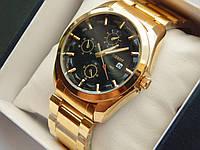 Мужские кварцевые наручные часы Tissot на металлическом ремешке