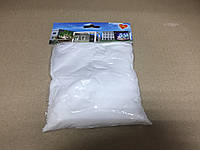 Декоративный цветной песок наполнитель 350 гр. фракция №4 белый, фото 1
