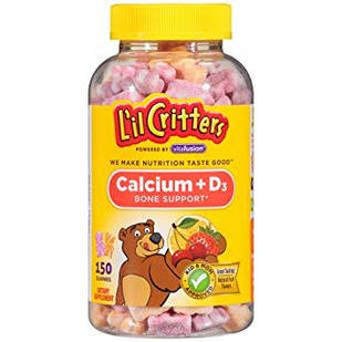 L il Critters Ca+D3 150 шт вітаміни дитячі жувальні