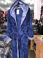 Мужские халаты банные махровые с капюшоном,размерыXL, XXL, XXXL, XXXXLТурция, фото 1