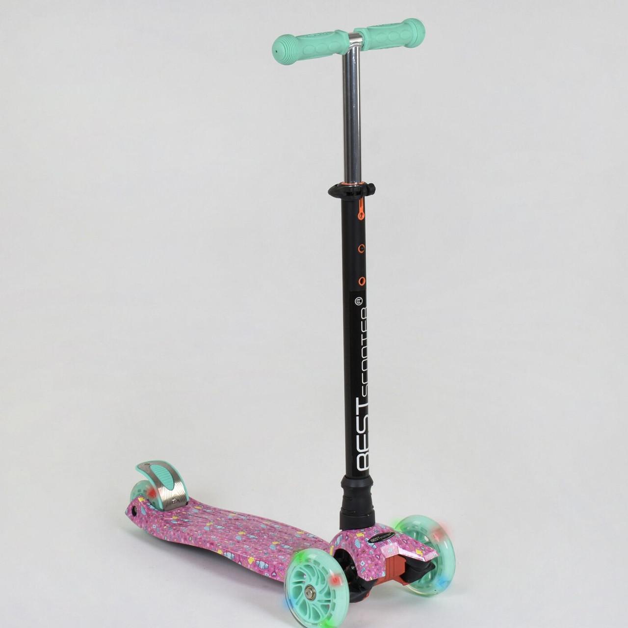 Самокат Best scooter MAXI граффити 1337