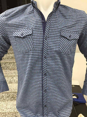 Теплая кашемировая рубашка Х-port, фото 2