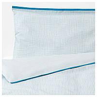IKEA KLAMMIG (503.730.16) Набор подушек для ребенка, бирюзовый