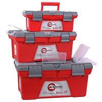 Комплект ящиков для инструментов, 3 шт INTERTOOL BX-0403