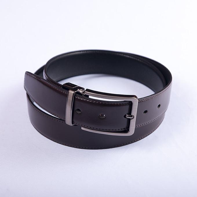 Ремень Alon двусторонний black/black, 125 см