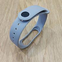 Ремешок для Фитнес-Трекера,  XIAOMI MI BAND 3 / 4 одноцветный - Gray - Серый, фото 3
