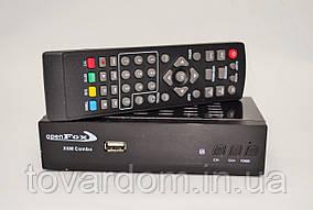 Спутниковый ресивер OpenFox X6 Metal Combo HD
