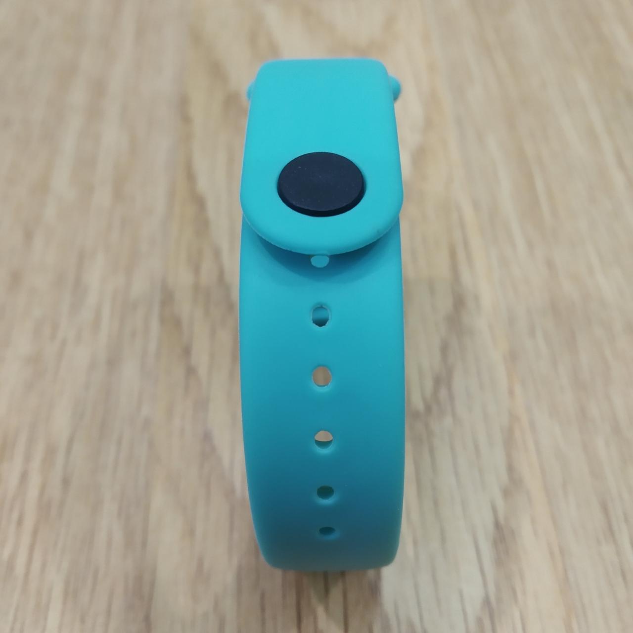 Ремешок для Фитнес-Трекера,  XIAOMI MI BAND 3 / 4 одноцветный - Light blue - Светло Голубой