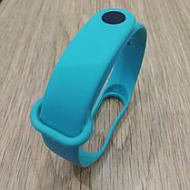 Ремешок для Фитнес-Трекера,  XIAOMI MI BAND 3 / 4 одноцветный - Light blue - Светло Голубой, фото 3