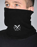 Теплый зимний флисовый бафф Rextim