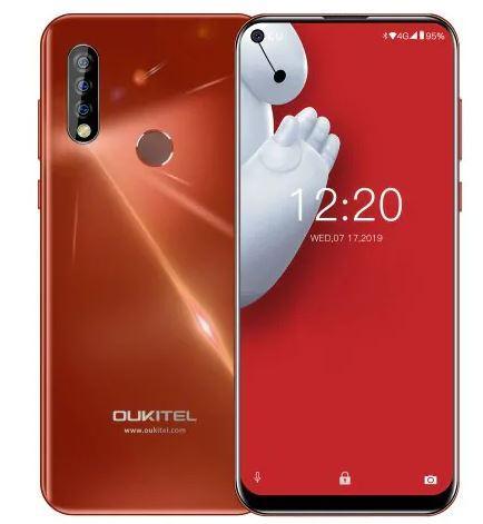 Смартфон OUKITEL C17 Pro Orange