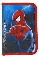 """Пенал """"Kite Spider man-2"""" 19.5х13х3,5 см."""