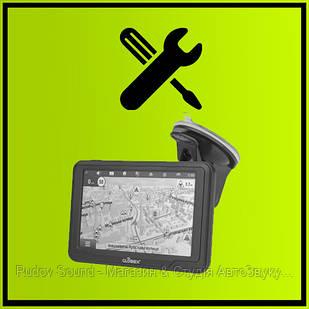 Встановлення GPS навігатора + прошивка