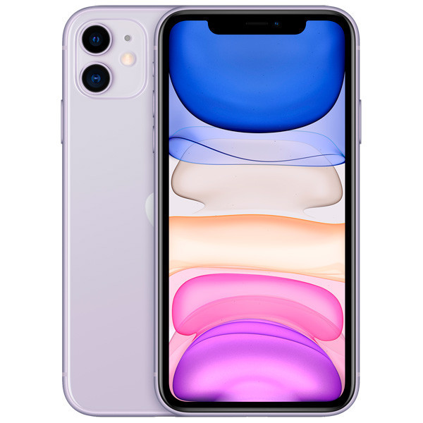 Apple iPhone 11 256Gb Dual Sim (Purple) (MWNK2)