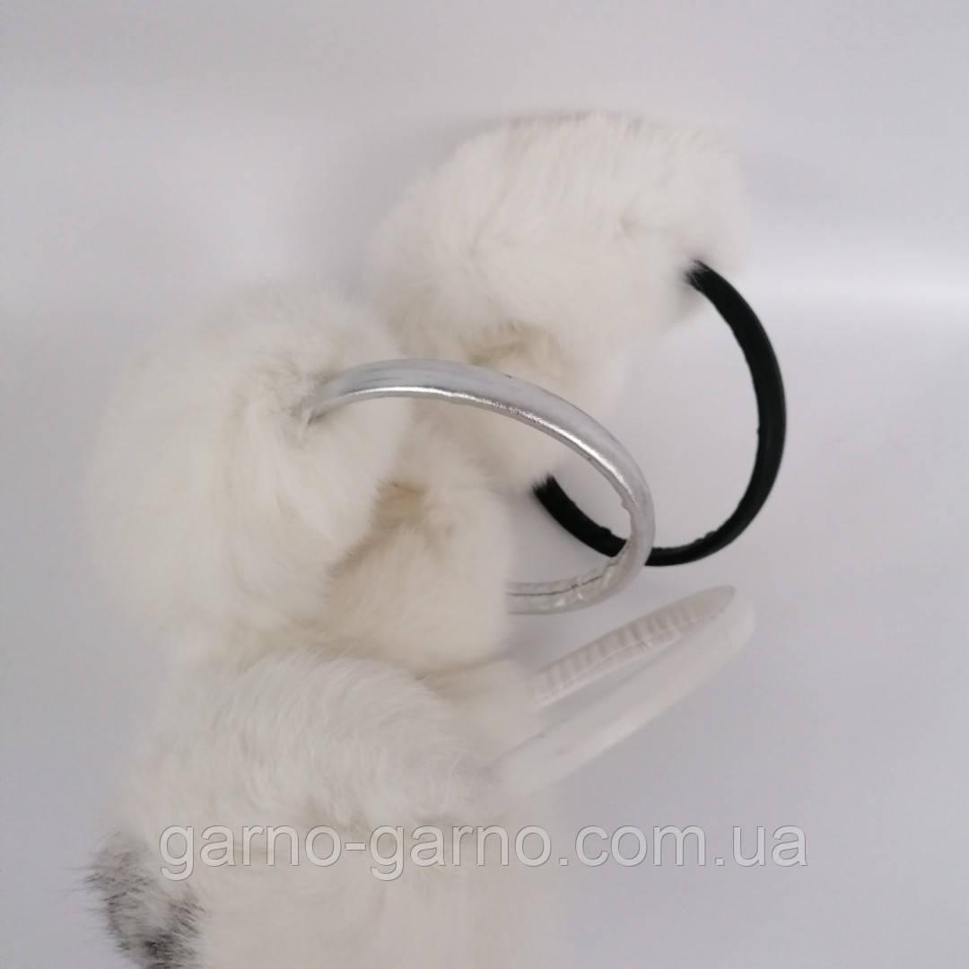 Наушники меховые Зимние кролик Белый цвет