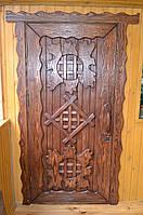 Двери входные под старину