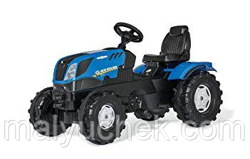 Трактор Farmtrack New Holland Rolly Toys 601295