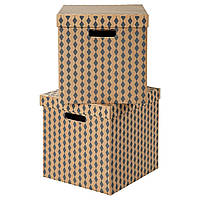 IKEA TRYCK (003.186.97) Коробка с крышкой