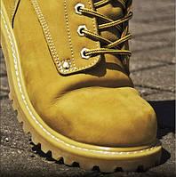 Ботинки  НУБУК (желтые), 39,40,45,47 р-р