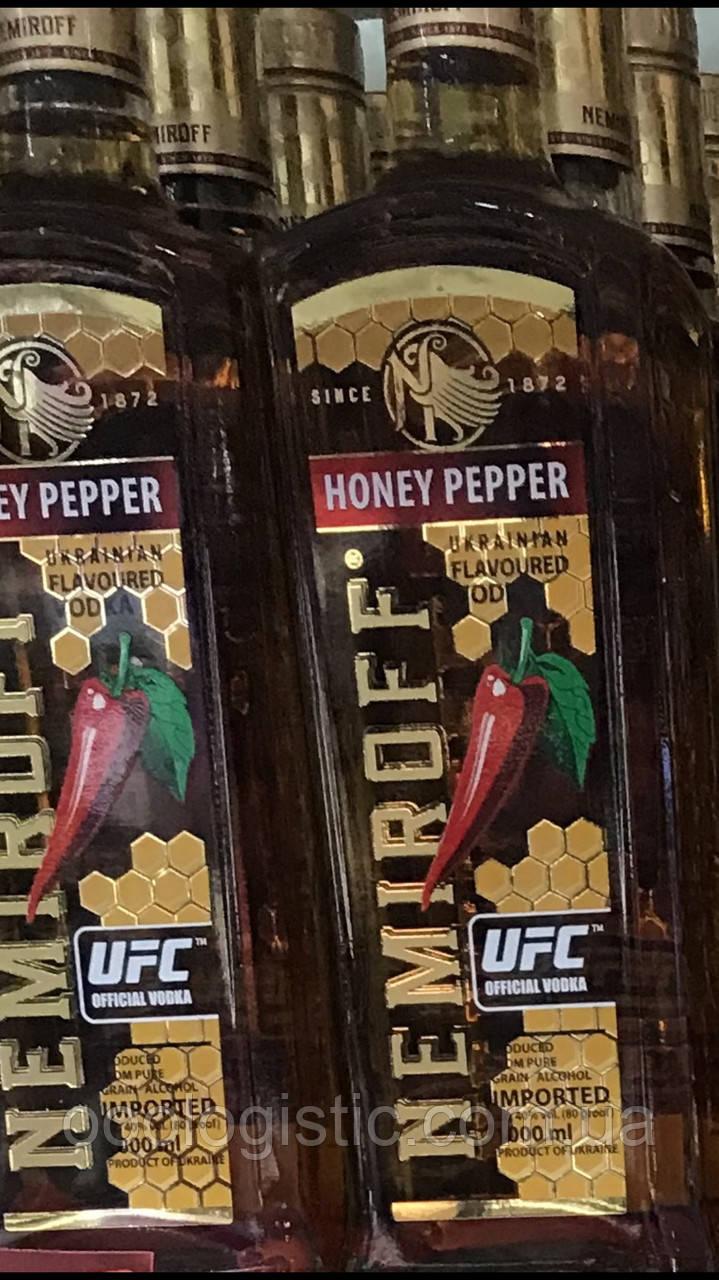 Водка Nemiroff Honey Pepper 1л.40% duty free