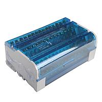 ElectroHouse Шина нулевая в корпусе (кросс-модуль) 4X15 125A IP20