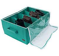 Органайзер для обуви на 4 пары ORGANIZE Lzr-O-4 лазурь, фото 1