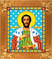 Схема для вышивки Св. Александр Невский