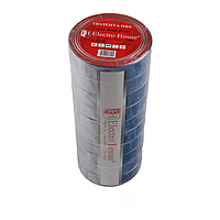 ElectroHouse Изолента синяя 0,15мм х 18мм х 25м